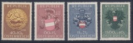 Österreich 1949, ANK 949-952 ** Heimkehrer Und Kriegsgefangenenfürsorge Postfrisch (ANK 66.- €)