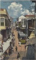 DAMAS - Rue El-Sanjakdar - TRAMWAY - Carte Colorisée - Ed. Soubhi S. & Munir Aïta, Damas
