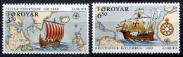 Faroe Islands  1992  EUROPA   MiNr.231-32 MNH (**)   ( Lot F1527 ) - Féroé (Iles)