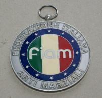 ITALIA , MEDAGLIONE DELLA FEDERAZIONE ITALIANA ARTI MARZIALI - Arti Martiali