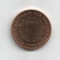 Pays-bas 2 Cents 1999 Issue De Rouleau Neuf - Netherlands