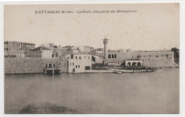 SYRIE - LATTAQUIE Le Port, Vue Prise Du Sémaphore