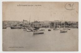 SYRIE - LATTAQUIE Le Port