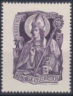 Österreich 1949, ANK 948 ** 1000. Geburtstag Des Heiligen Gebhard, Postfrisch