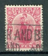 NEW ZEALAND 1900-09: YT 94, O - FREE SHIPPING ABOVE 10 EURO - 1855-1907 Crown Colony