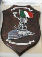 ITALIA . ARTISTICO CREST ARALDICO DELLA SCUOLA MARESCIALLI DEI CARABINIERI - Marine