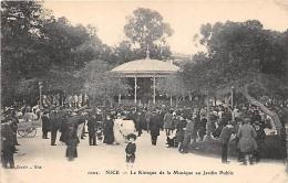 ALPES MARITIMES  06   NICE   LE KIOSQUE DE LA MUSIQUE AU JARDIN PUBLIC - Nice