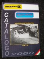 CATALOGO AUTOMODELLI PROGETTO K 2000  Fiat Alfa Lancia 1/43 - Italia