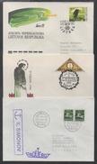 LITUANIE - LITHUANIA - LITAUEN - LIETUVA / 1991-93 - LOT DE 5 LETTRES (ref 7218)