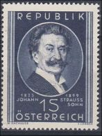 Österreich 1949, ANK 946, Johann Strauß- Sohn (ANK 6.- €)
