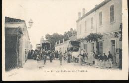 Algerie --  Arrivee Du Courrier A Marnia - Algeria