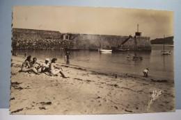 DIELETTE-PLAGE  --- La Plage D'enfants Et Le Port  -- ( Pas De Reflet Sur L´original ) - Frankreich