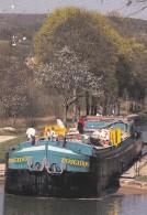 PLOMBIERES LES DIJON 21 PORT DU CANAL POSEIDON LA PENICHE DES ENFANTS BELLE CARTE - Francia