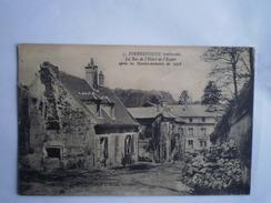 WW1 - Guerre 1914-18 // Pierrefonds (60) France // Bombardee - Bomdamage No7 // 19??