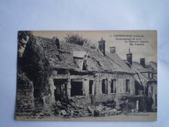 WW1 - Guerre 1914-18 // Pierrefonds (60) France // Bombardee - Bomdamage No6 // 19??