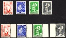 1939 & 1940 NEW YORK WORLD'S FAIR Complete Sets (Mi 204/07 & 218/21, SG 238/41 & 257/60) Very Fine...