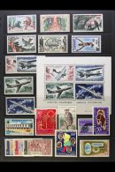 1959-69 MINT AIR POST COLLECTION Highly Complete For The Period. Lovely (70 Stamps & 3 M/s) For More Images,...