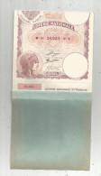 Billet De Loterie , Loterie Nationale , Série Z , 100 Frs , 1934 , 2 Scans , CARNET DE 9 BILLETS DE LOTERIE - Billets De Loterie