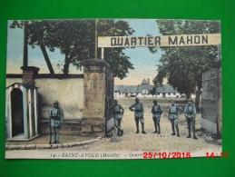 Saint Avold Quartier Mahon 1938 écrite Par Un Soldat Basé Au Camp De Téting - Saint-Avold
