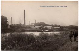 Pouilly Sur Saône : Les Usines Jacob (Cliché Héliot) - Other Municipalities