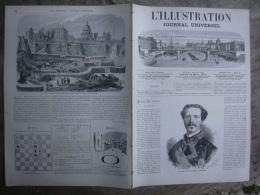 L'ILLUSTRATION  1413 HAUTE COUR / HENRI DE BOURBON / MARSEILLE: PARIS: ASSOCIATION ANTI TABAC  26 Mars 1870 - Journaux - Quotidiens