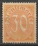 Timbres - Allemagne  - Service - 1920 - N° 13 -