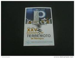 E1308a- Bloc MNH Nicaragua -1997- Tremblement De Terre , Earthquake De Managua , Terremoto