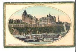 C.P.A.  QUEBEC    Chateau  Frontenac - Québec - Château Frontenac
