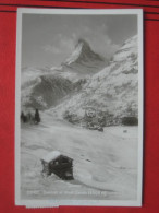 Zermatt (VS) - Et Mont Zervin / Winter - VS Valais