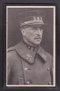 Faire-Part De Décès De Sa Majesté ALBERT- Roi Des Belges - 8 Avril 1875-17 Février 1934 - Décès
