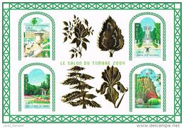 "France 2004 - BF 71 ""Salon Du Timbre 2004 - Jardins De France"""