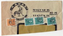 Kakas Company Letter Cutout Travelled 1936 B161020