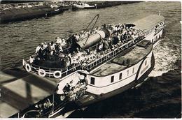 Foto-AK Fahrgastschiff Magdeburg Auf Der Elbe 1928 - Ferries