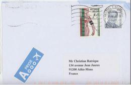 Belgique Heart Coeur Hypertension On Letter