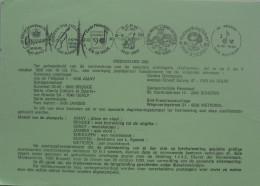 België 1990 Postdienst - Muziek : Viool - Notenbalk - Muzieknoten - Documentos Del Correo