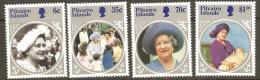 Pitcairn Islands 1985 268-71Queen Mother Unmounted Mint