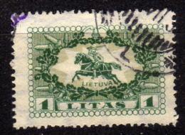LITAUEN 1927 - MiNr: 278  Used