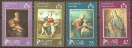 Pitcairn Islands 1985 277-80 Christmas Unmounted Mint