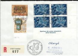 Festival Equestre Tramelan 1987 - Storia Postale