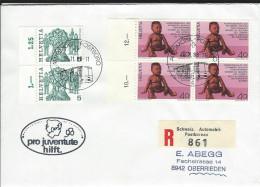 Pro Juventute Hilft 1988 - Storia Postale