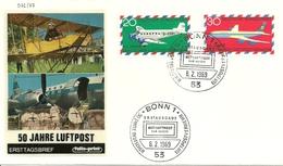 Bund - FDC, 1969, Nr. 576/77 - BRD
