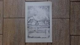 Houtem-Vilvoorde Monnikenhof Door Gesigneerd 40/200 Ex. 1976 - Estampas & Grabados