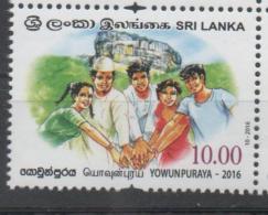 SRI LANKA, 2016, MNH,YOUTH, YOWUN PURAYA, 1v - Other