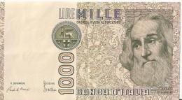 1000 Lire 1982 - Marco PAULO - N° CC 938489 O  - ITALIE - - [ 2] 1946-… : Républic