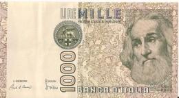 1000 Lire 1982 - Marco PAULO - N° EC 555165 I  - ITALIE - - [ 2] 1946-… : Républic