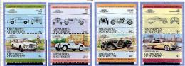 Grenadines De St Vincent ** N° 355 à 362  - Automobiles De Renommée Mondiales -