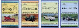 Grenadines De St Vincent ** N° 400 à 407  - Automobiles De Renommée Mondiales -