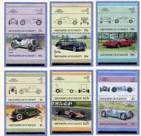 Grenadines De St Vincent ** N° 450A à 450M - Automobiles De Renommée Mondiales -