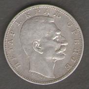 SERBIA 1 DINAR 1912 AG SILVER - Serbie
