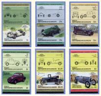 (lot 1) Bequia - St Vincent **  Automobiles De Renommée Mondiales -